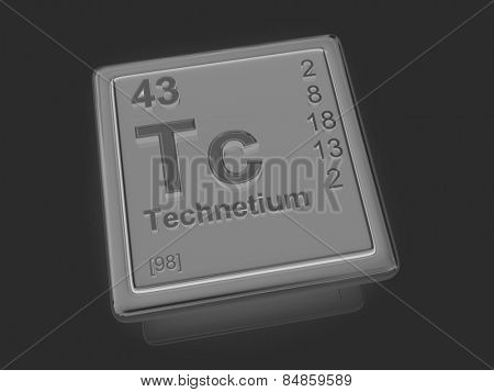 Technetium. Chemical element. 3d
