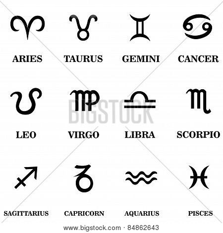 Set Zodiac Sign