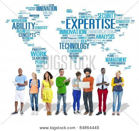 Expertise Career Job Profession Occupation Concept