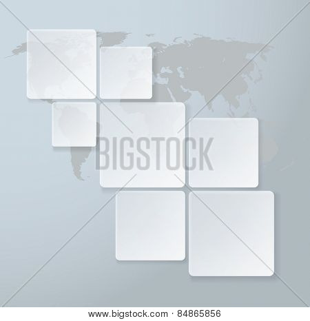 Web Design Infographic. Abstract Diagram. Vector illustration.