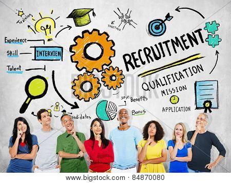 Ethnicity People Imagination Recruitment Ideas Concept