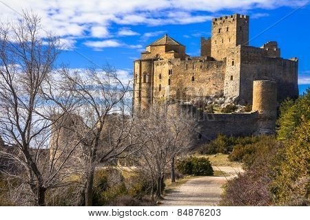 Impressive castles of Europe - Loarre, Spain (Aragon)