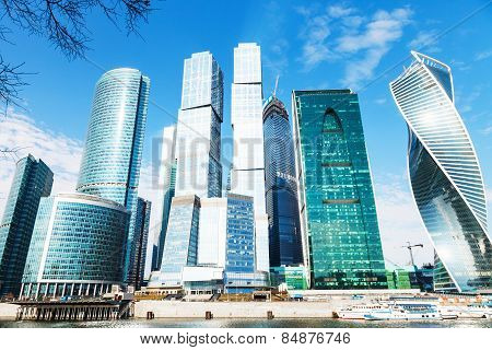 Towers Of Moscow City Office District