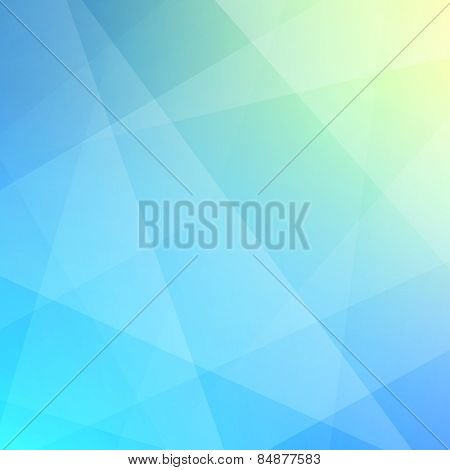 Blurred background with sky and clouds. Modern pattern. Abstract vector illustration. Can be used for wallpaper, web page background, web banners.