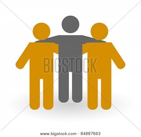friends person - people icon design