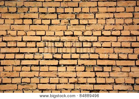 Brick Wall. Picture Can Be Used As A Background