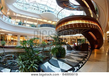 DUBAI, UAE - 3 December 2014: Mall of the Emirates in Dubai, UAE.