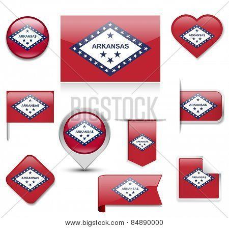 Arkansas Flag Collection