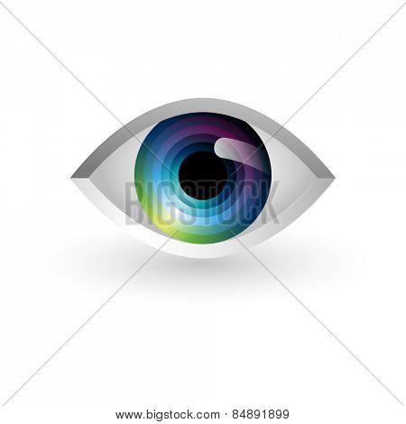 Abstract eye, eps10 vector