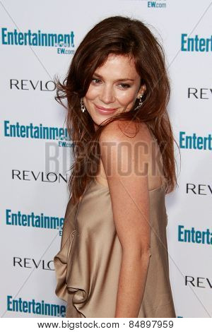 BEVERLY HILLS - SEP 20: Anna Friel at the 6th Annual Entertainment Weekly Pre-EMMY party  on September 20, 2008 in Beverly Hills, California
