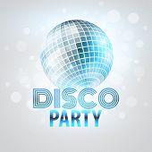 stock photo of mirror  - Disco party - JPG