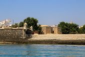 picture of lagos  - The harbor of the Portuguese village Lagos Portugal - JPG