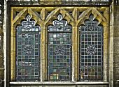 Medieval Church Windows poster