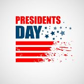 image of patriot  - Presidents Day Vector Background - JPG