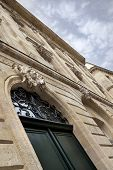 foto of bordeaux  - Facade of a mansion in Bordeaux France - JPG