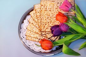 stock photo of slavery  - jewish holiday of Passover and its attributes - JPG