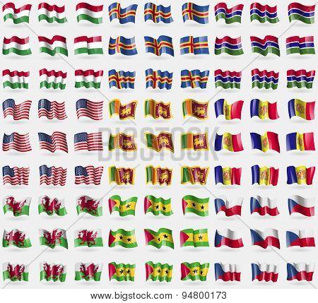 Hugary, Aland, Gambia, Usa, Sri Lanka, Andorra, Wales, Sao Tome And Principe, Czech Republic. Big Se