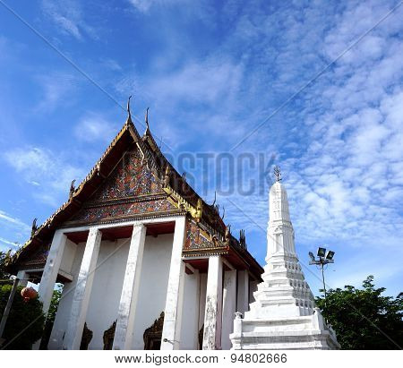 Church Of Ancient Temple In Thailand