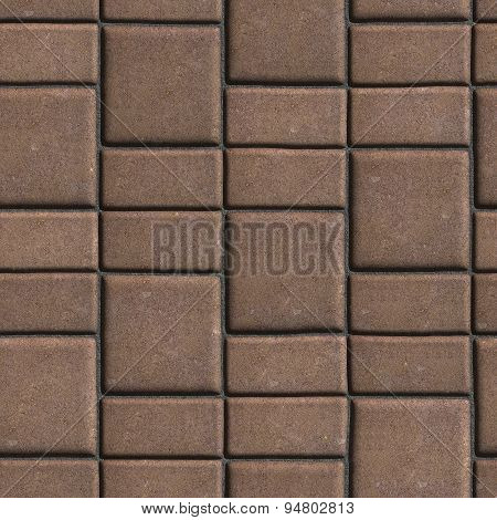 Brown Paving Slabs that Mimic Natural Stone.
