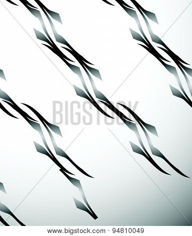 Seamlessly Repeatable Artistic Pattern, Background. Abstract Vector.