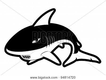 Shark sign.