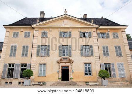 Castle of La Chaize in Beaujolais, France