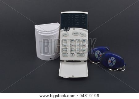 Security Alarm Systems. Industrial Or House Alarm