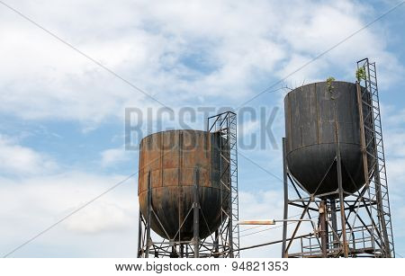 Old Steel Tanks