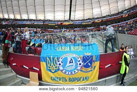 Uefa Europa League Final Game Dnipro Vs Sevilla