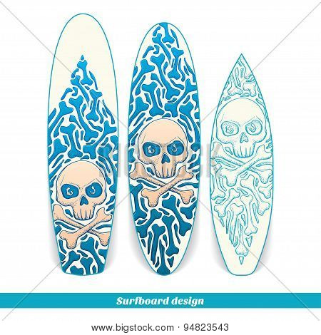 Surfboard Design One