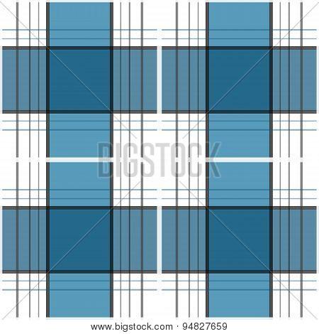 Seamless Retro Textile Tartan Checkered Plaid Pattern Background