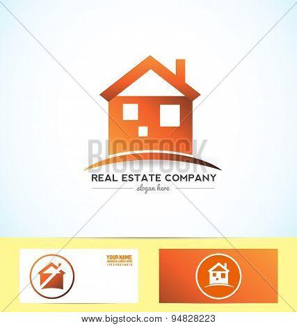 Real Estate Orange Logo