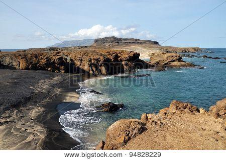 Cloudscape Island And Beach