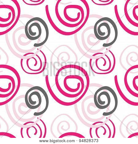 Abstract seamless pattern pink color