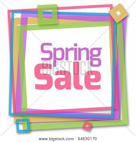 Spring Sale Colorful Frame