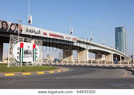 Bridge In Ras Al Khaimah, Uae