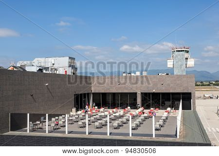 Open Air Restaurant At The Airport