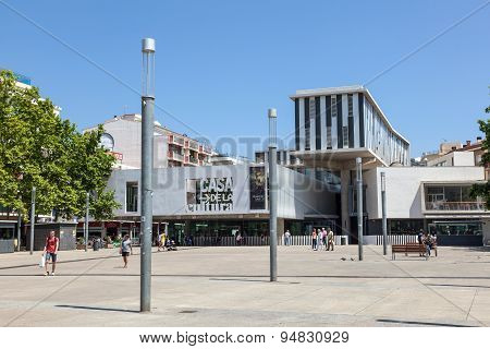 House Of Culture In Lloret De Mar, Spain