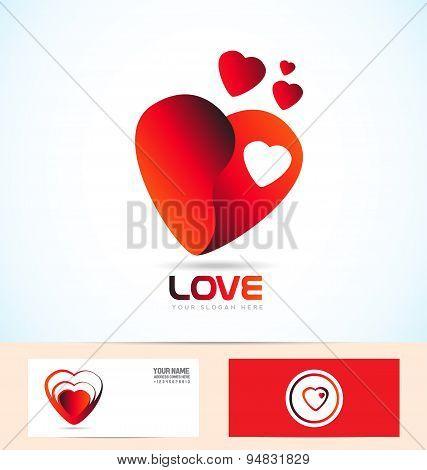 Love Read Heart Logo