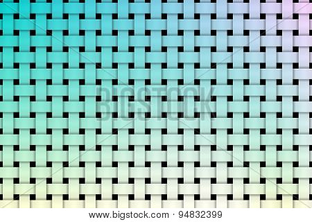 Colorful weave pettern background