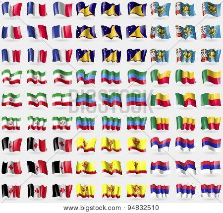 France, Tokelau, Saint Pierre And Miquelon, Iran, Dagestan, Benin, Udmurtia, Chuvashia, Republika Sr