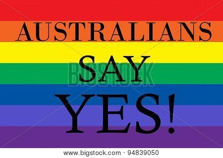 Australians Say Yes