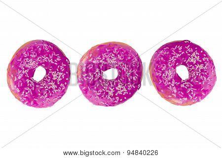 Colorful Fresh Doughnuts