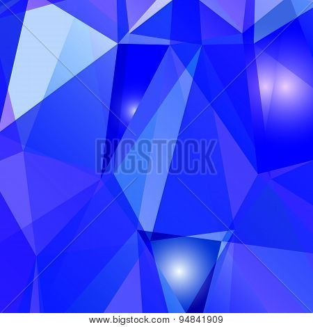 Geometric Background Of Triangular Polygons