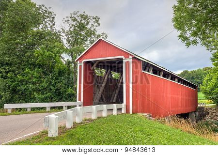 Enochsburgh Road Covered Bridge
