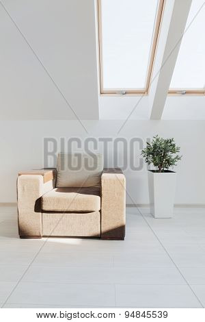 Contrastive Armchair In The Attic