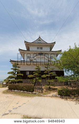 Main Keep Of Marugame Castle (circa 1641), Japan