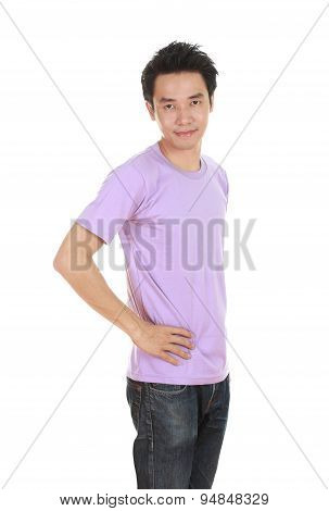 Man With T-shirt (side View)
