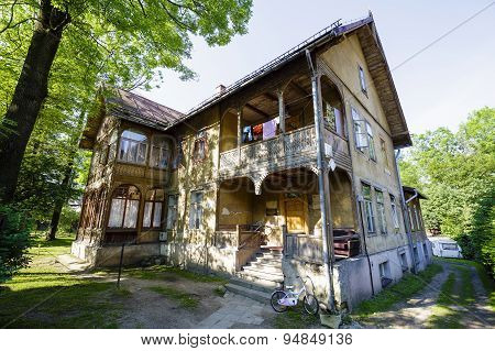 Wooden Villa Named Jerzewo In City Of Zakopane