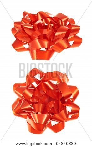 Decorational bow isolated